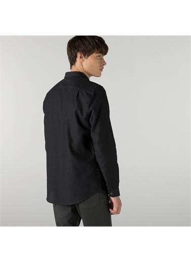 Lacoste Lacoste Erkek Slim Fit Siyah Gömlek Siyah